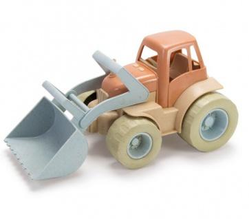 Dantoy Bio Traktor Kinder-Spielzeug robuster Bio-Kunststoff Geschenk Sandkasten