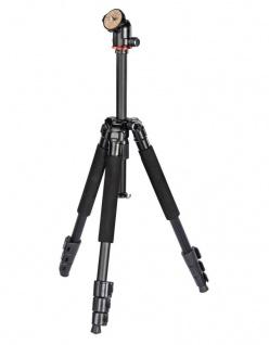 Hama Dreibein-Stativ Traveller 117 cm Ball 3D Kamera-Stativ Foto-Stativ Reise