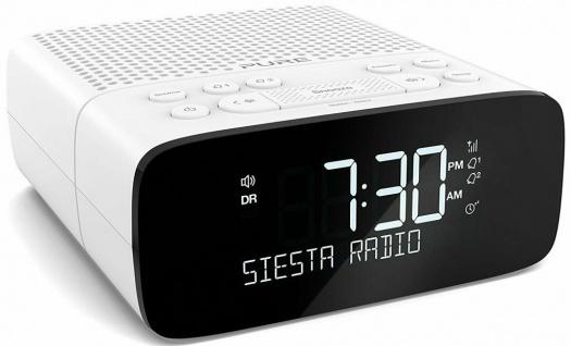 Pure Siesta S2 Digital-Radio Radio-Wecker Uhren-Radio FM UKW DAB DAB+ RDS USB