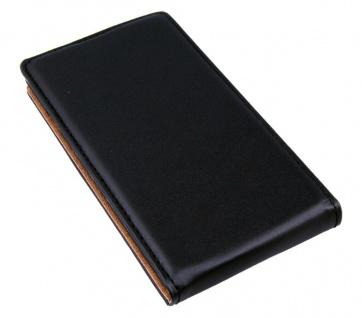 Patona Slim Flip-Cover Klapp-Tasche Schutz-Hülle Case Cover für Sony Xperia E3