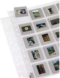 Hama Dia-Hüllen 100 Blatt 2000 Dias Dia Format 5x5cm Folie Aufbewahrung Tasche