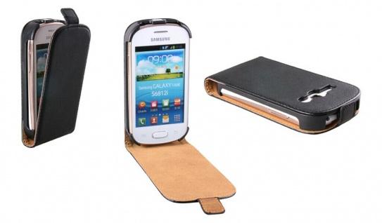 Patona Slim Flip Klapp-Tasche Schutz-Hülle Cover für Samsung S6810P Galaxy Fame