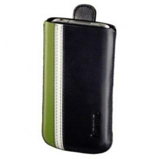 Hama Leder-Tasche Etui Case Schutz-Hülle für Xperia GO HTC Samsung Smartphone