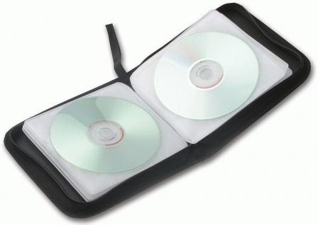 Speedlink 2x Pack CD-Tasche DVD Wallet 24x CD DVD BluRay Disc Booklet Case Hülle - Vorschau 3