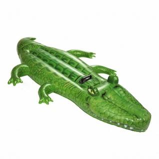Bestway 41011 Crocodile Rider aufblasbares Schwimmtier Krokodil Luftmatratze
