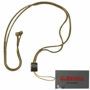 Krusell Neck-Strap Hals-Kette Trageband Schlaufe Gold für Handy Kamera MP3 iPod