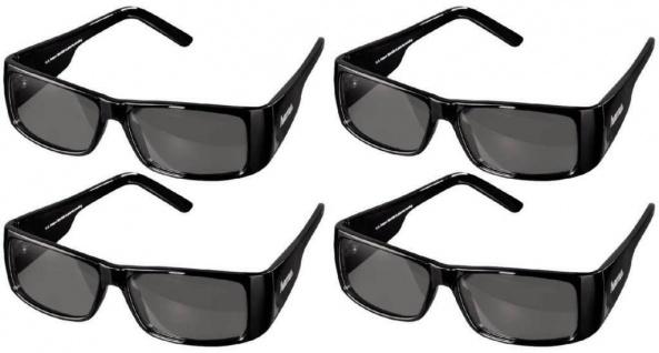 4x PACK Hama 3D Brille Polfilterbrille passiv polarisiert für 3D-TV Kino Beamer