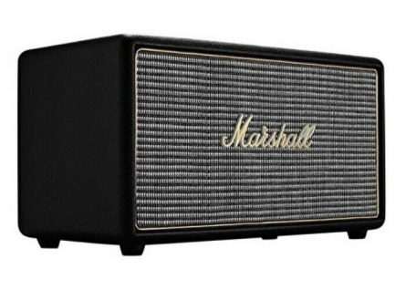 Marshall Stanmore Black Bluetooth Lautsprecher BT Speaker Retro Boxen Aktiv Box