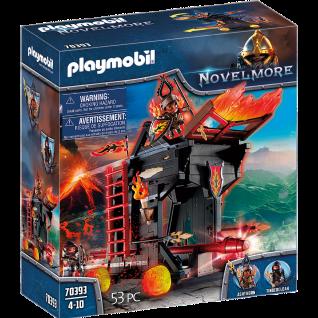 Playmobil 70393 Burnham Raiders Feuerrammbock Mittelalter Ritter Burgen Feuer