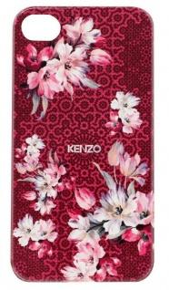 Kenzo Hardcase Nadir Pink Cover Schutz-Hülle Case Bumper für Apple iPhone 4s 4