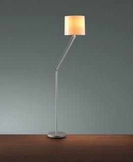 Hansa Stehleuchte Fluo Soft Flex silber Stehlampe Lampe Standleuchte Leuchte