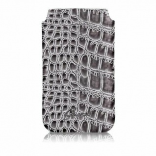 Guess Universal Sleeve Croco Optik Cover Handy-Tasche Schutz-Hülle Case Etui