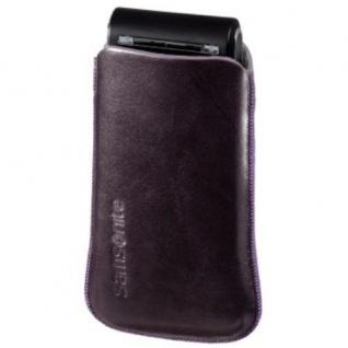 Samsonite Toledo Handy-Tasche lila für Nokia 700 701 500 E6-00 C7-00 ORO N8-00 .