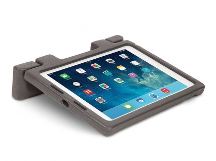 Kensington Robustes Trage-Case & Ständer Hülle Tasche für Apple iPad Air Grau