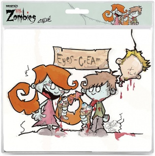 Speedlink Mousepad Mauspad Motiv Little Zombies Eyes Cream 1, 5mm Mouse Maus Pad - Vorschau 2