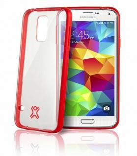 XtremeMac Slim Cover Klar Schutz-Hülle Case Schale Tasche für Samsung Galaxy S5