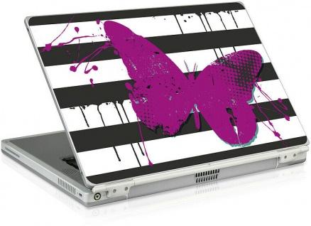 """Speedlink LARES Notebook Cover 15"""" Butterfly Aufkleber Skin Sticker Schutz-Folie"""