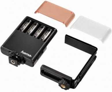 Hama LED-Leuchte Power Foto/Video Fotolicht Blitzschuh Kamera Licht Kopflicht - Vorschau 1