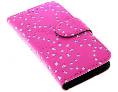 Patona Slim Flip Book-style Klapp-Etui Schutz-Hülle für Samsung Galaxy S4 mini