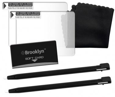 Brooklyn Screen Set Displayschutz-Folie für Nintendo DSi XL DSi DS Lite Display