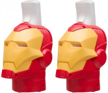 2x Set Marvel Iron Man Ladegerät + Akku Docking Lader für Wii Controller Wiimote