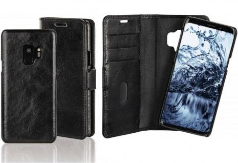Pazzimo 2in1 Booklet + Cover Smart Case Tasche Etui Hülle für Samsung Galaxy S9