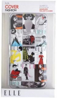 ELLE Vintage Hard-Cover Schale Hülle Bumper Tasche für Samsung Galaxy S4 Mini - Vorschau 2