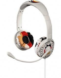 Hama Headset Kopfhörer + Mikrofon Deutschland 3, 5mm Klinke für PC VoIP Skype MSN
