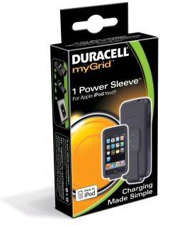Duracell myGrid Power Sleeve Adapter für iPod Touch Cover Tasche Ladegerät Lader