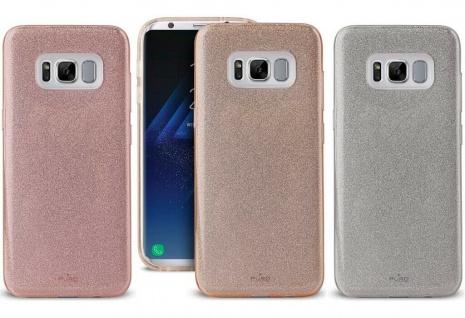 Puro Shine Glitzer Cover Schutz-Hülle Case Tasche für Samsung Galaxy S8 Edge S8E