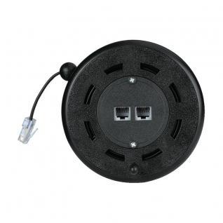 Hama ISDN Kabel-Trommel ISDN-Verlängerung 8P4C RJ45 Modular Stecker - Kupplung