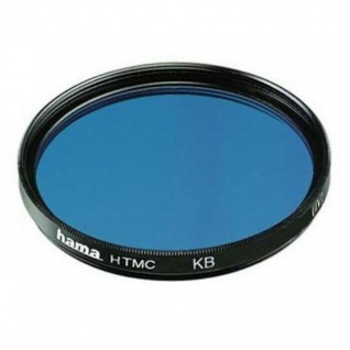 Hama Korrektur-Filter Blau-Filter 37mm KB-15 für DSLR SLR Systemkamera Objektiv