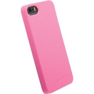 Krusell BIO Cover Case Tasche PINK für Apple iPhone SE 5S 5 Hülle Hardcover