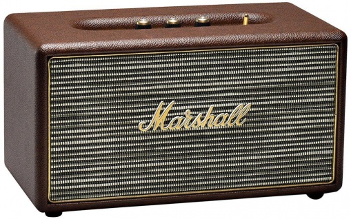 Marshall Stanmore Brown Bluetooth Lautsprecher BT Speaker Retro Boxen Aktiv Box