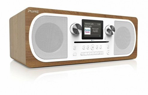 Pure Evoke C-F6 Internet-Radio DAB DAB+ UKW FM CD Bluetooth WiFi Kompakt-Anlage
