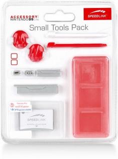 Speedlink 8in1 Set Folie Touch Pen Stifte Spiele-Hülle rot für Nintendo DS Lite