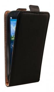 Patona Slim Flip Klapp-Tasche Schutz-Hülle Cover für Samsung Galaxy SIII S3 Neo