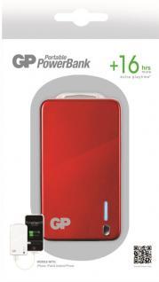 GP 4000mAh Power-Bank Externer Akku USB Ladegerät für Universal Handy Smartphone