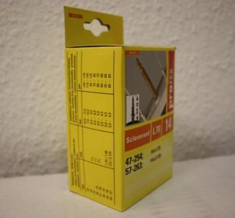 """Fahrradschlauch Fahrrad Schlauch Rad L70 14"""" 14 Zoll Sclaverand 14x1, 75 14x2, 125"""