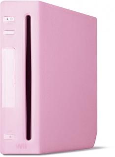 Speedlink Silikon Skin Schutz-Hülle PINK für Nintendo Wii Konsole Tasche Cover