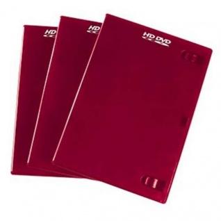 Hama 3x PACK HD-DVD-Hüllen 1er 1-Fach Leer-Hülle Box Boxen für CD HDDVD Disc