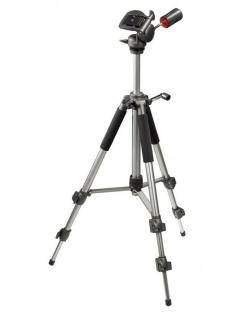 Hama Dreibein-Stativ Omega Premium I 141cm 3D Kamera-Stativ Foto-Stativ 1/4