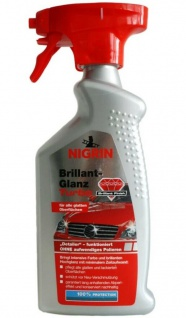 Nigrin Brillant-Glanz Turbo Detailer 500ml Spray Lack-Konservierung Pflege Wachs