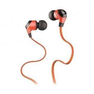 Monster Mobile-Talk N-Ergy Orange In-Ear Headset Kopfhörer Headphones Handy MP3