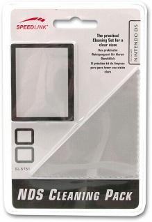 Speedlink 2in1 Reiniger Pack Display-Schutz Schutz-Folie + Tuch für Nintendo DS