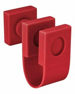 Urbanears The Acrobatic Cable-Clip Rot Kabel-Clips Kopfhörer Headset Ladegerät