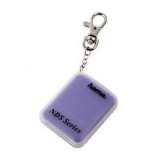 Hama Game-Case Schlüssel-Anhänger Spiele-Hülle 2x Spiel für Nintendo DS DSi Lite