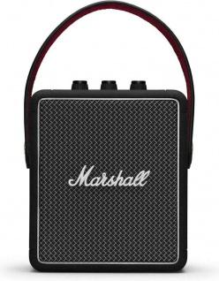 Marshall Stockwell II 2 Black Bluetooth tragbarer Lautsprecher Speaker Aktiv Box