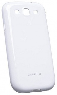 Samsung Soft Cover Schutz-Hülle Case Tasche weiß für Samsung Galaxy S3 SIII