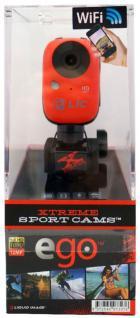 Liquid Image EGO 727 WiFi Action-Cam Sport Kamera Full HD 1080p Helmkamera Video